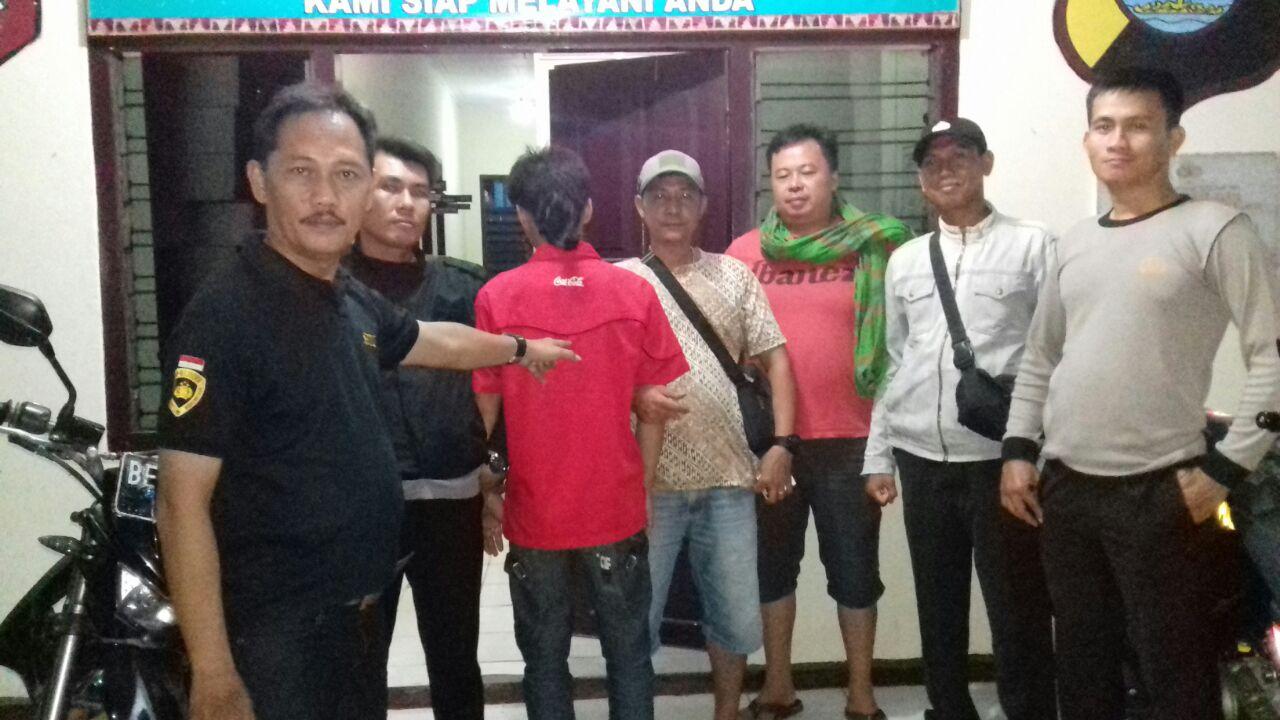 LAMPUNG POST | Miliki Sabu, Pemuda Waway Karya Dibekuk Patroli Polisi
