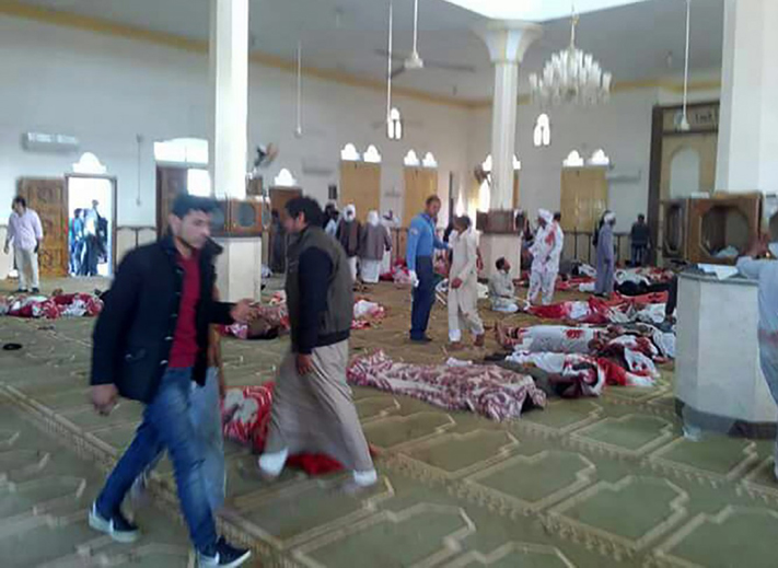 LAMPUNG POST | Korban Tewas Bom Masjid Sinai Melonjak jadi 235 Orang