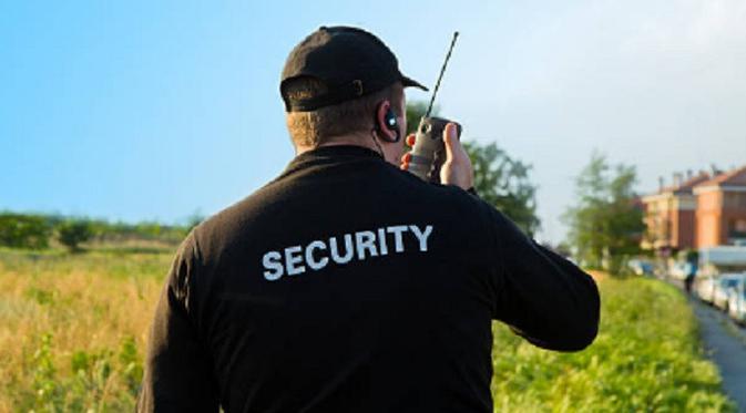 LAMPUNG POST | Petugas Keamanan
