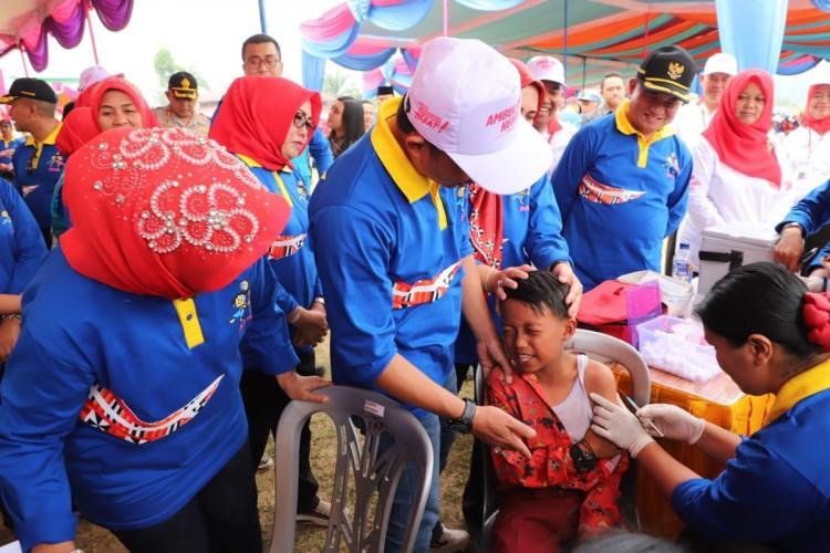 78.506 Anak Lambar Ditargetkan Terimunisasi