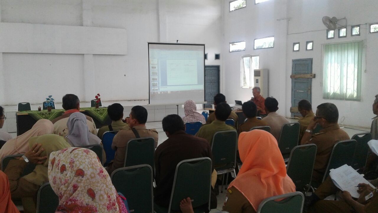LAMPUNG POST | TP4K Provinsi Lampung Latih Tenaga Penyuluh Distan Lampura