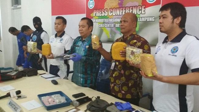 BNNP Lampung Tembak Mati Bandar Narkoba di Banten