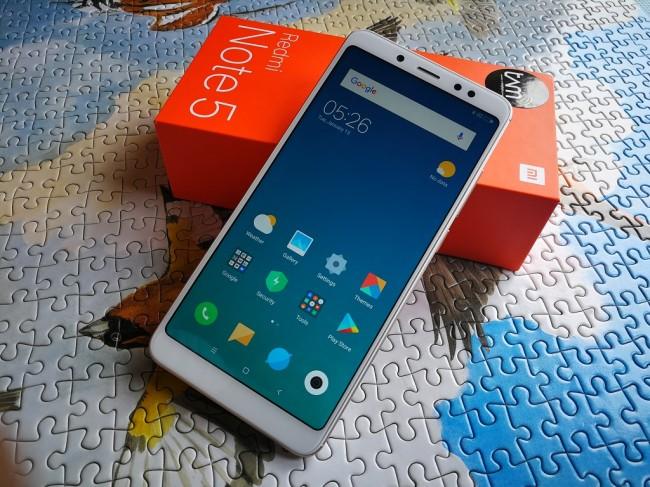 Unboxing Kotak Xiaomi Redmi Note 5