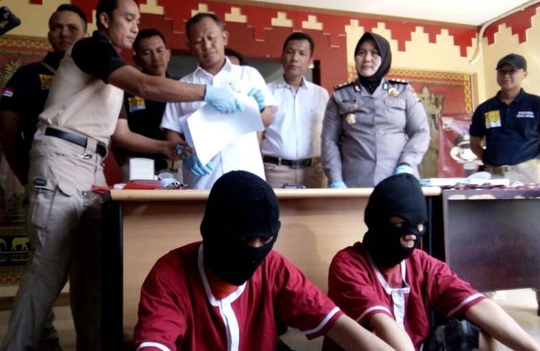 Polda Lampung Bekuk Komplotan Ganjal ATM, Begini Modus Mereka