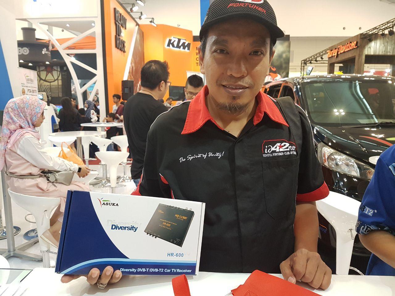 Asuka Car TV Beri Diskon untuk Pengguna Mitsubishi Xpander