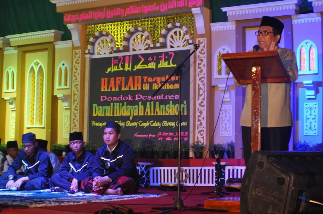 LAMPUNG POST | Adeham Hadiri Pengajian Akbar di Ponpes Darul Hidayah Al Anshor Tubaba