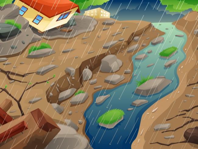 Banjir dan Longsor Kembali Terjang Yogyakarta
