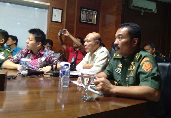 Kemhan Tinjau Kemampuan Galangan Kapal di PT DRU Lampung