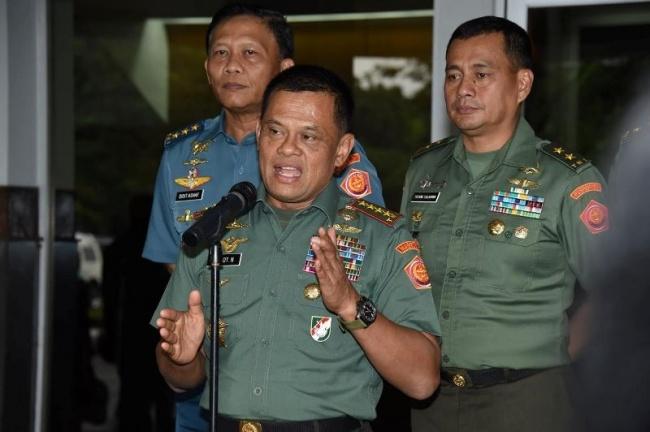 LAMPUNG POST | Panglima TNI: Jangan Ikuti Ulama yang Ingin Memecah Belah Bangsa