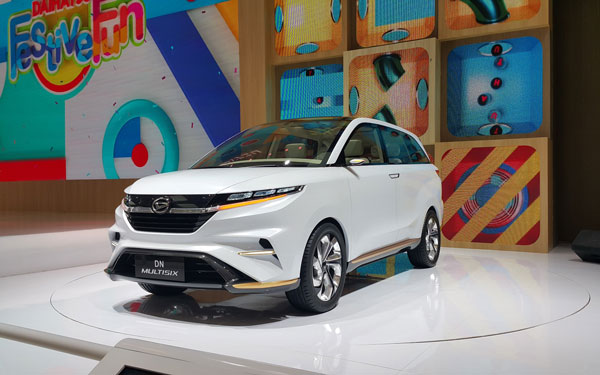 LAMPUNG POST | Daihatsu Tampilkan Mobil Konsep DN Multisix