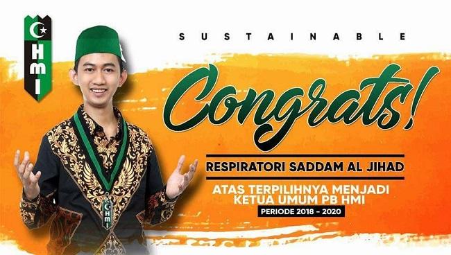 LAMPUNG POST | Putra Lampung Terpilih Jadi Ketum PB HMI