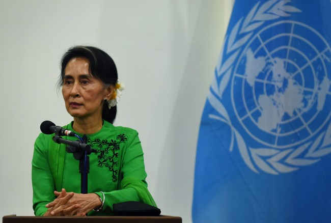 LAMPUNG POST | Aung San Suu Kyi: Kemarahan Dunia Disebabkan Berita Palsu