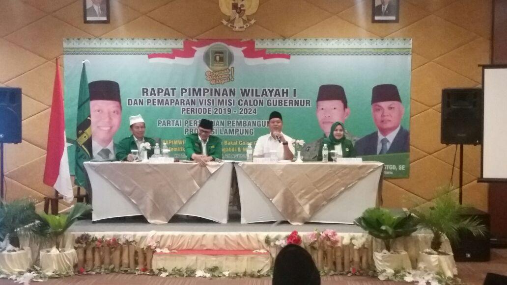 LAMPUNG POST | Mustafa Ajak PPP Berjuang Bersama di Pilgub Lampung