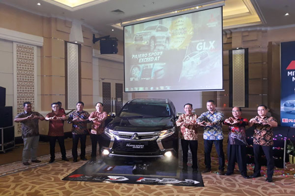 Mitsubishi New Pajero Sport Dilaunching di Lampung
