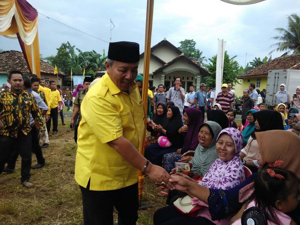LAMPUNG POST | Arinal Sapa Masyarakat Lampung Utara