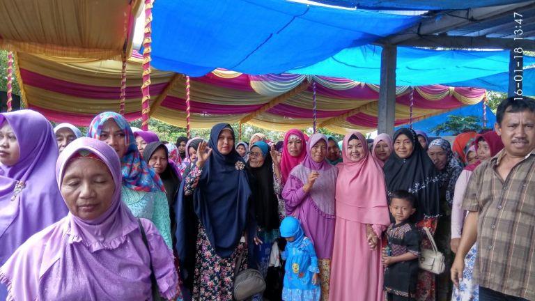 Aprozi-Ice Hadiri Haul Syekh Abdul Qodir Jailani di Ponpes  Mabaul Hikmah