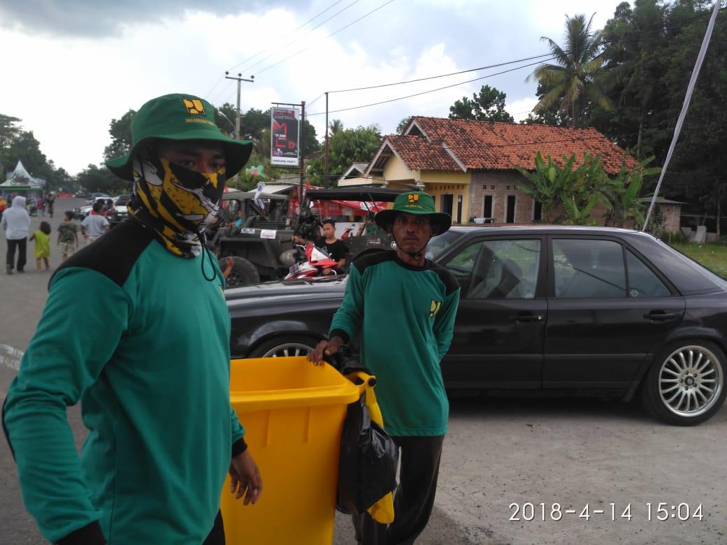 Jaga Kebersihan, Pasukan Hijau Dikerahkan Selama Tubablaarrr