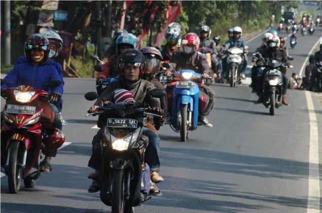 LAMPUNG POST | Pemudik Sepeda Motor Meningkat 40,30 Persen