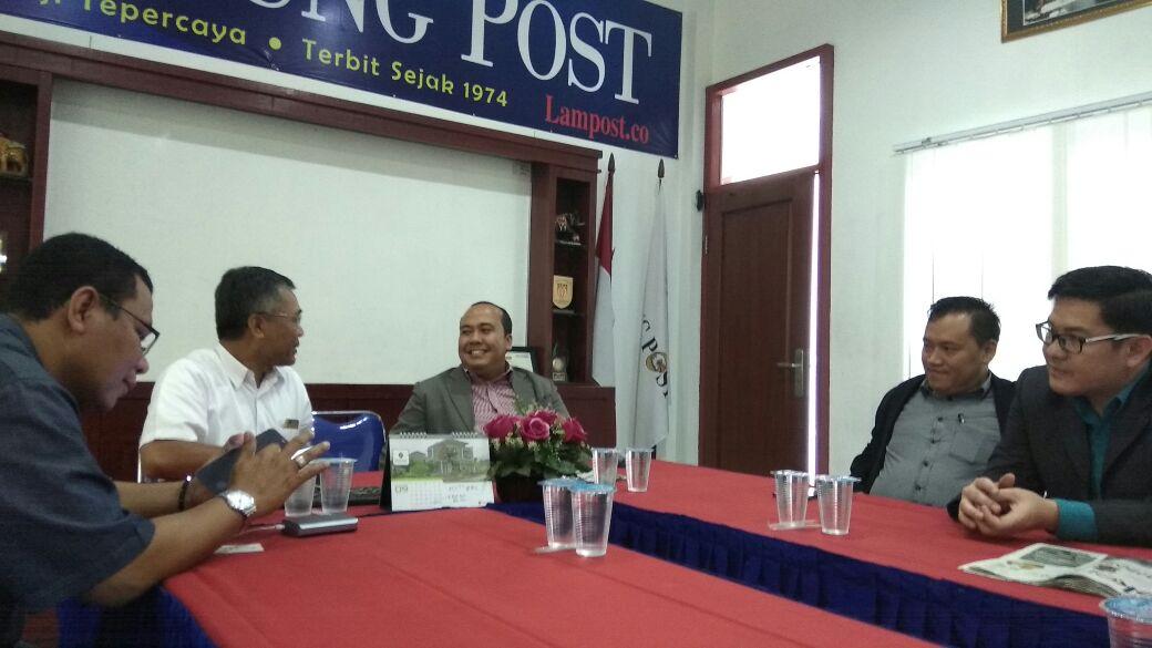 LAMPUNG POST | Kunjungi Lampung Post, Manajemen Novotel Paparkan Pengembangan Bisnis