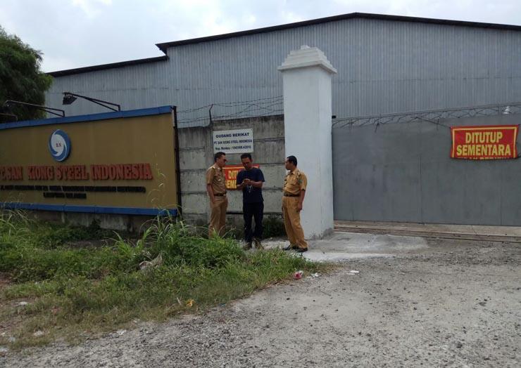 LAMPUNG POST | Pemkab Lamsel Tutup PT San Xiong Steel Indonesia