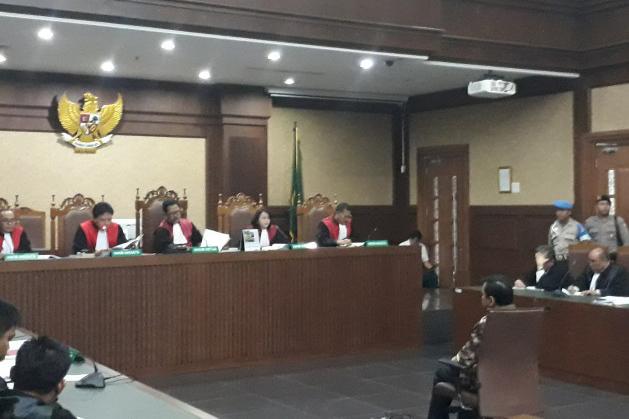 Hakim Tolak Eksepsi Setya Novanto