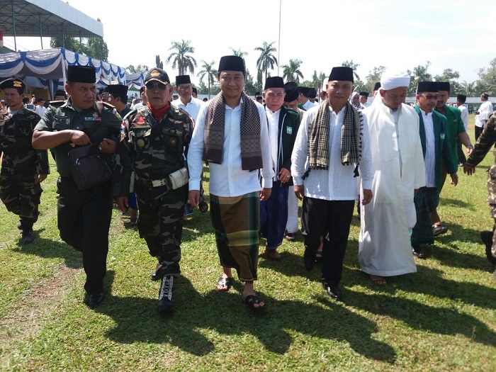LAMPUNG POST | Lampung Utara Gelar Apel Besar Peringati Hari Santri