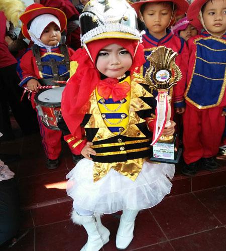 LAMPUNG POST | Artanti Azzahra  Juara Gitapati