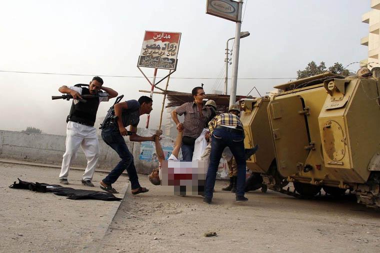 LAMPUNG POST | Baku Tembak dengan Militan, 16 Polisi Mesir Tewas