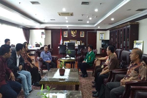 DPP Kamsri Audiensi dengan Ketua MPR