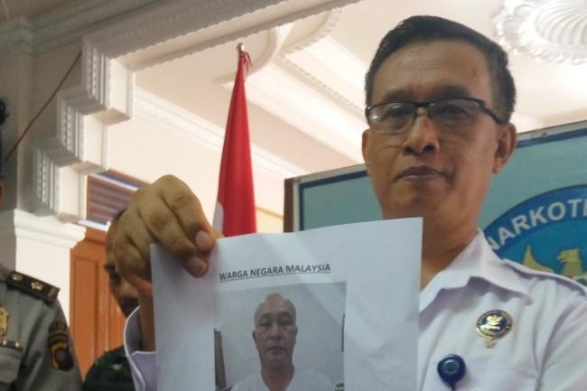 LAMPUNG POST   BNN Tembak Mati WN Malaysia Penyelundup 3 Kg Sabu