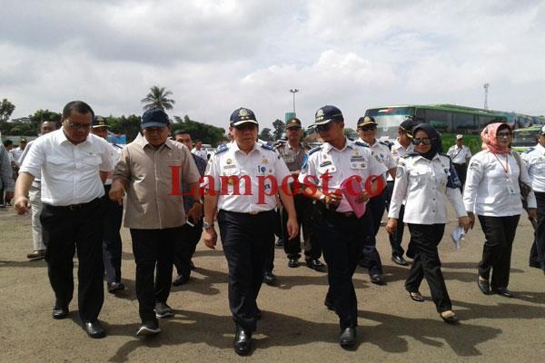 LAMPUNG POST | DPD RI Kawal Rehabilitasi Terminal Rajabasa