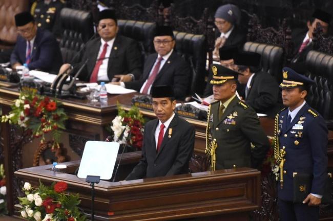 LAMPUNG POST | Hari Ini, Presiden Sampaikan RAPBN 2018 di Sidang Tahunan MPR