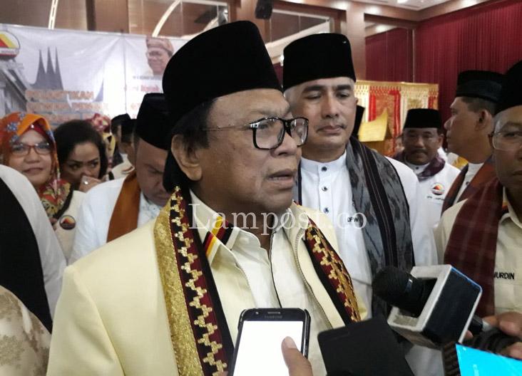 LAMPUNG POST | Hanura Tetap Solid Dukung Mustafa di Pilgub