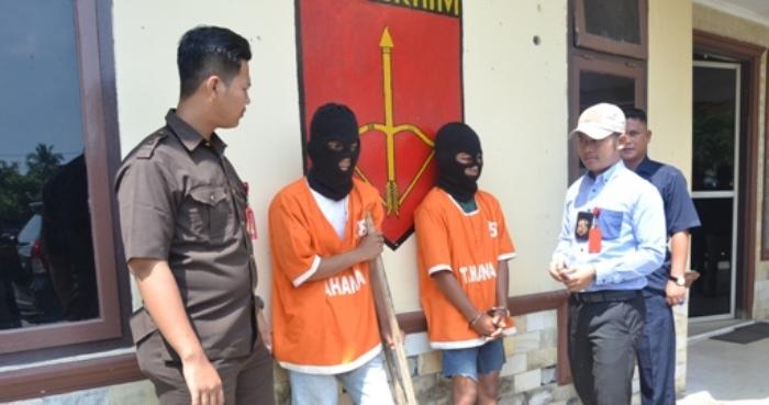 LAMPUNG POST | Tekab 308 Polres Tanggamus Bekuk Perampas Motor, Satu Pelaku Masih Remaja