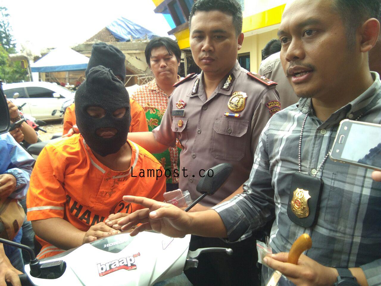 Jambret di Jalan Gatot Subroto Ditembak Polisi
