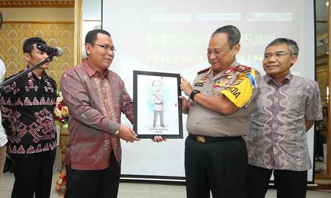 Lampung Post dan Polda Bersinergi Perangi Hoaks