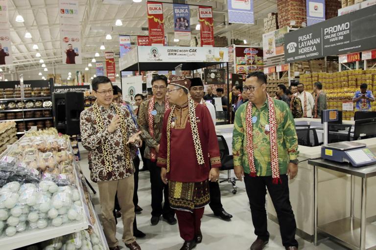 Kehadiran Lotte Grosir Dukung Pertumbuhan Ekonomi Lampung