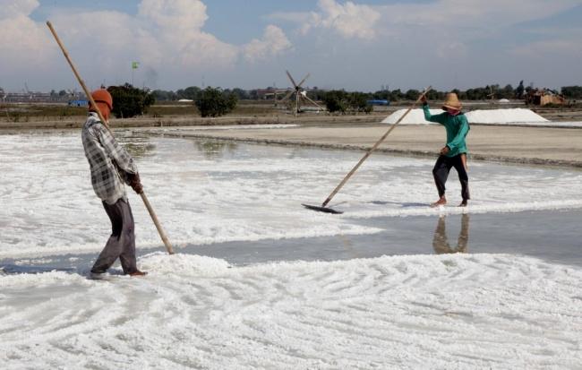 LAMPUNG POST | Bareskrim Awasi Pengusaha Garam di Tanah Air