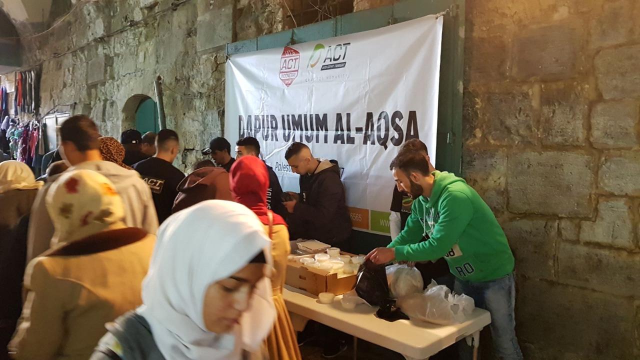 LAMPUNG POST | Aksi Bela Palestina, ACT Siapkan Humanity Food Truck
