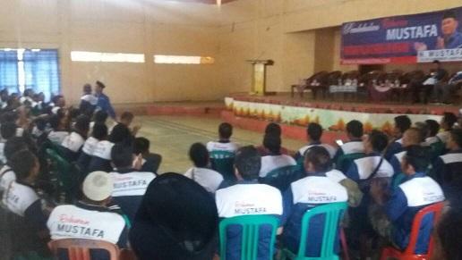 LAMPUNG POST | Relawan Mustafa Lambar Ikuti Pembekalan
