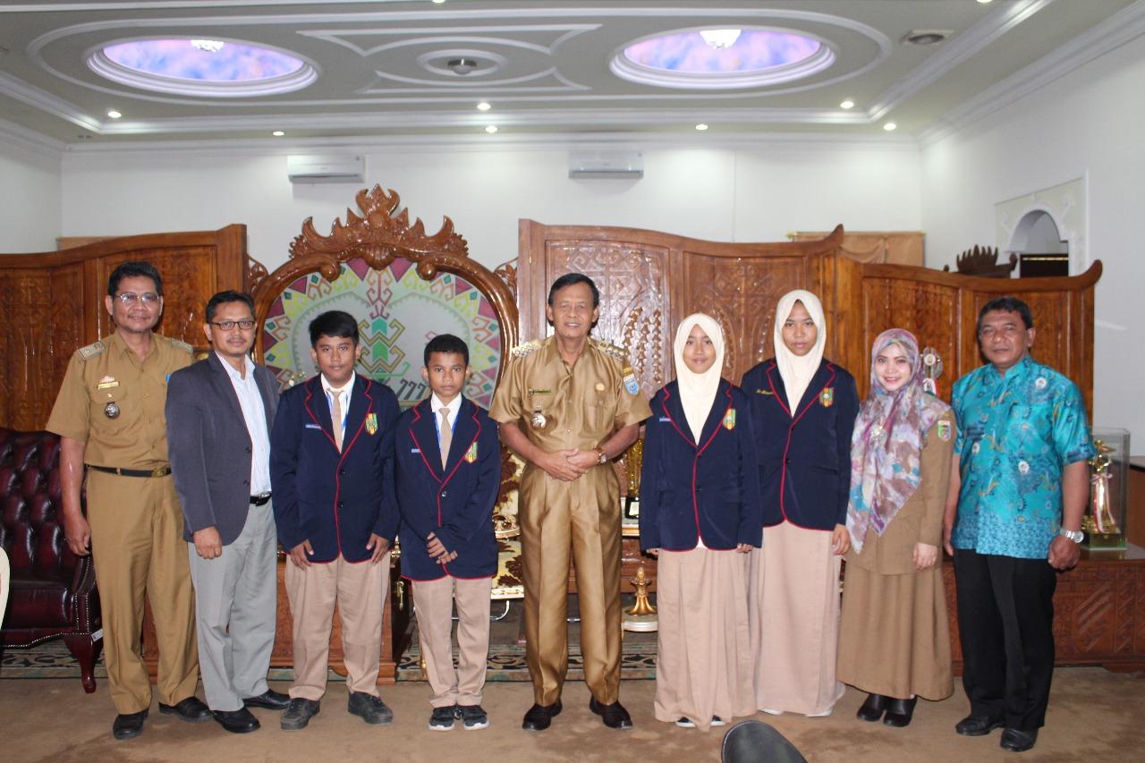 Empat Siswa SMP Muhammadiyah Ahmad Dahlan Metro Wakili Indonesia dalam Program Beasiswa Belajar di Jepang