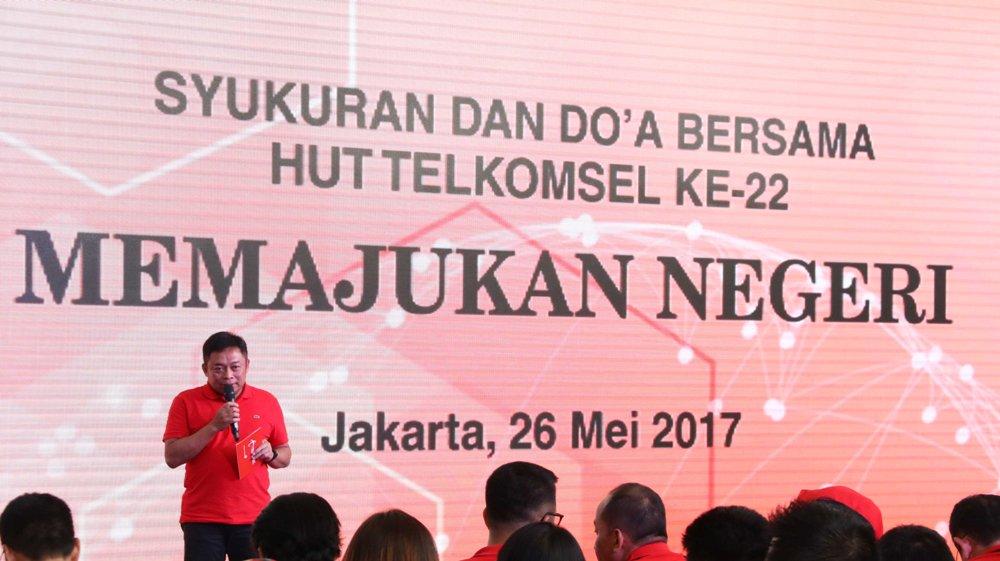 LAMPUNG POST   HUT ke-22, Telkomsel Konsisten Memajukan Negeri