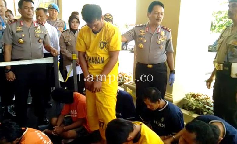 LAMPUNG POST | Impitan Ekonomi Picu Tindak Kriminalitas di Lampung