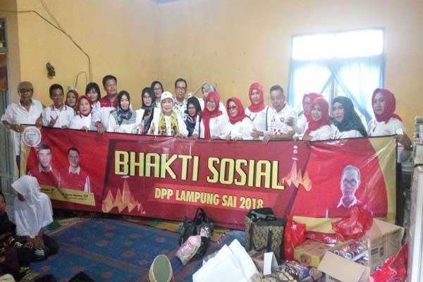 Lampung Sai Bantu Anak Yatim Panti Asuhan Toriqul Jannah