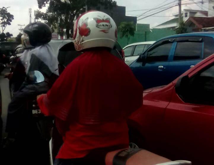 Jalan Zainal Abidin Pagar Alam Macet Parah, Ada Apa?