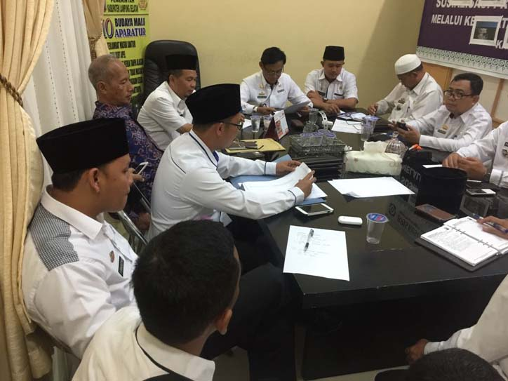 LAMPUNG POST | Pemkab Lamsel Gelar Rapat Songsong Ramadan