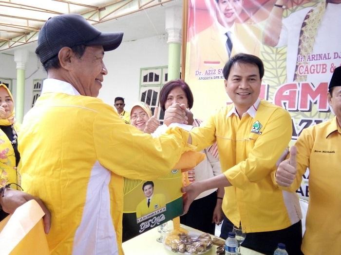 Azis Syamsuddin Silaturahmi ke Pringsewu
