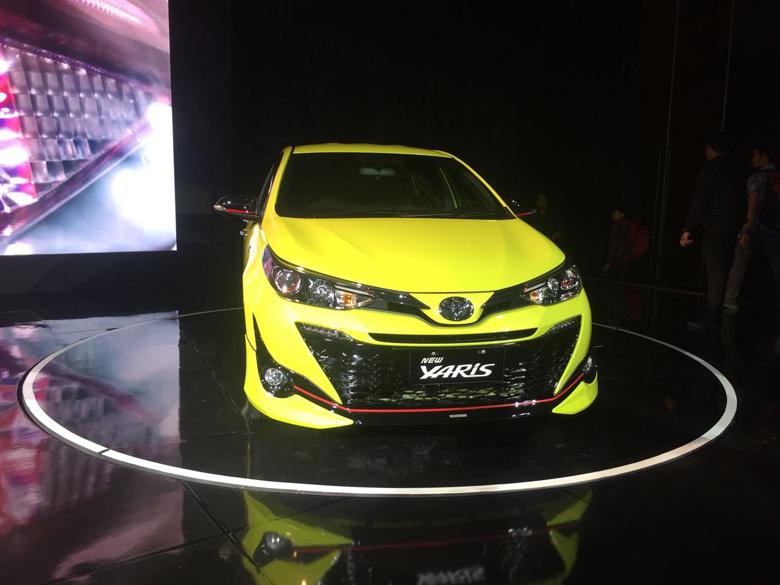 LAMPUNG POST | Toyota Resmi Luncurkan Yaris Baru