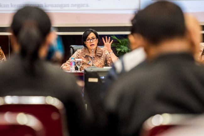 LAMPUNG POST | Sri Mulyani: Warga yang Cinta Indonesia Pasti Bayar Pajak