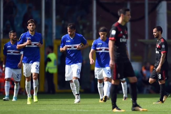 Milan Tersungkur di Kandang Sampdoria